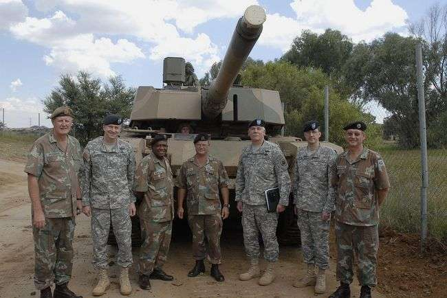 South African Army salary problem